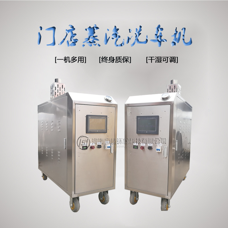 手推式蒸汽洗车机 手推式蒸汽洗车机的优势 恒盛环保