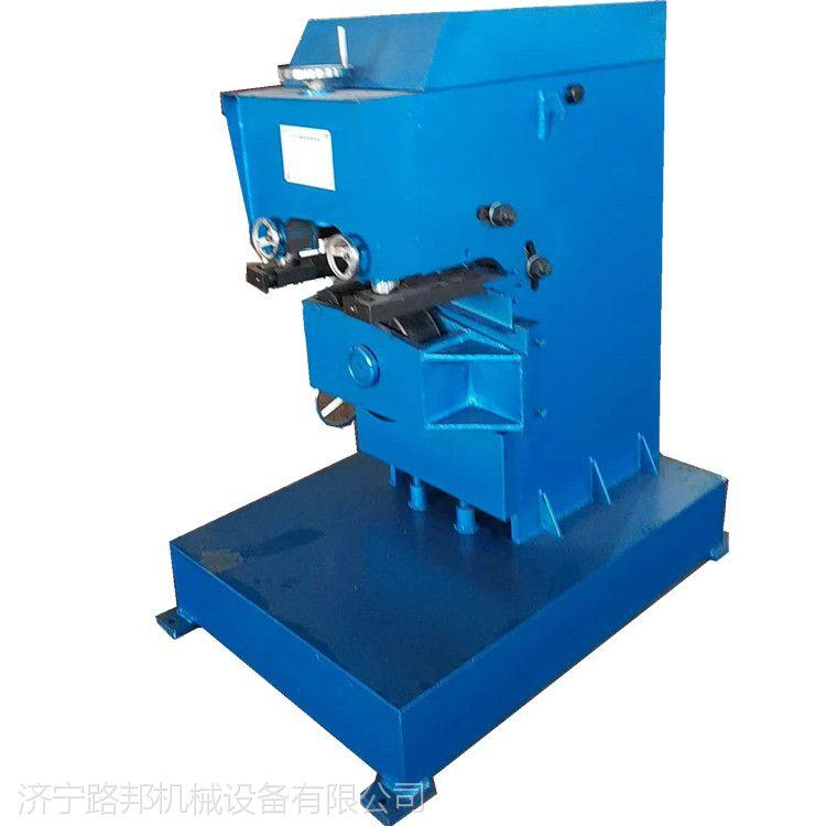 路邦机械GD-20型钢板倒角机滚剪倒角机固定式平板坡口机
