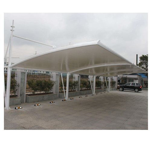 学校膜结构汽车棚批发 金梁 膜结构汽车棚