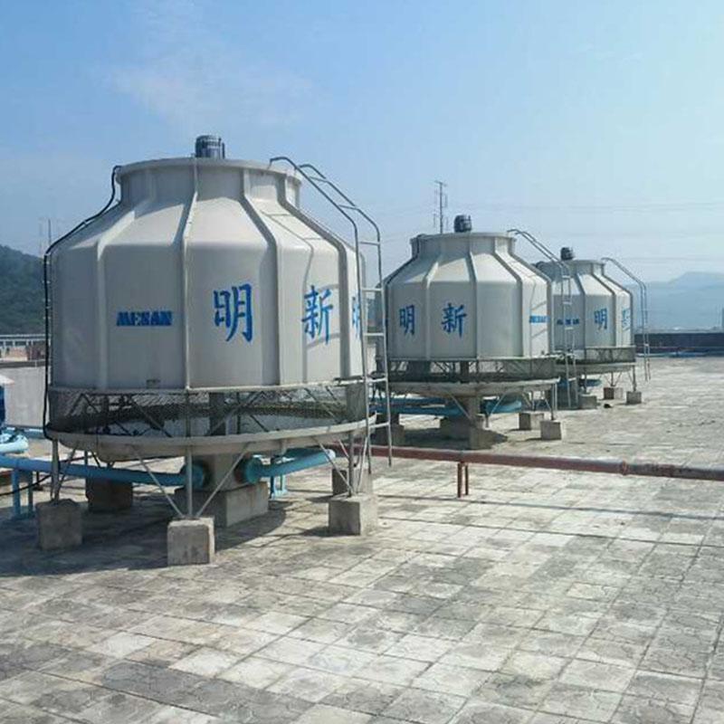 惠州直供方型注塑机冷却塔玻璃钢圆形冷却塔