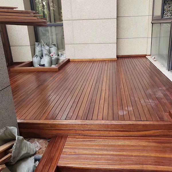 景致木业 日照户外木地板 庭院户外木地板