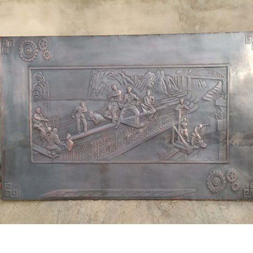 聊城浮雕壁画加工定制 瑞鑫浮雕 人物浮雕壁画工程承接