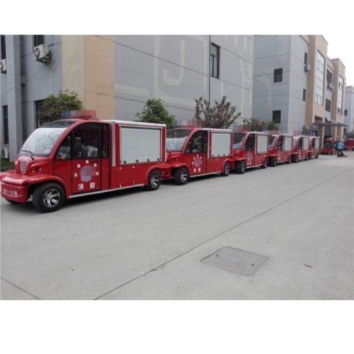 2座1吨水箱电动消防车 景区2座1吨水箱电动消防车定制 德士隆