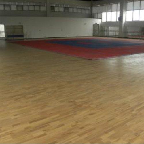 复合舞蹈室木地板订制 复合舞蹈室木地板定制 立美体育