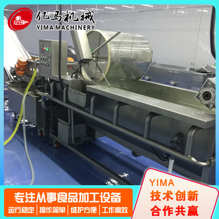 豆角清洗流水线规格型号 亿马机械 蔬菜清洗流水线生产商