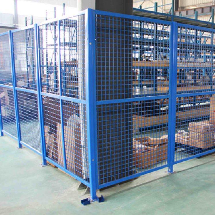 双圈隔离网 工厂隔离网出售 华德耐特 工厂隔离网