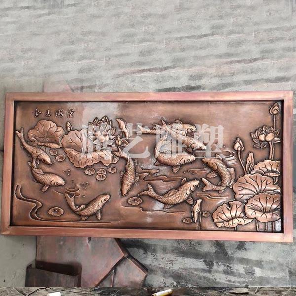 室外铜壁画 古建筑铜壁画大量供应 腾艺雕塑 室外铜壁画制作