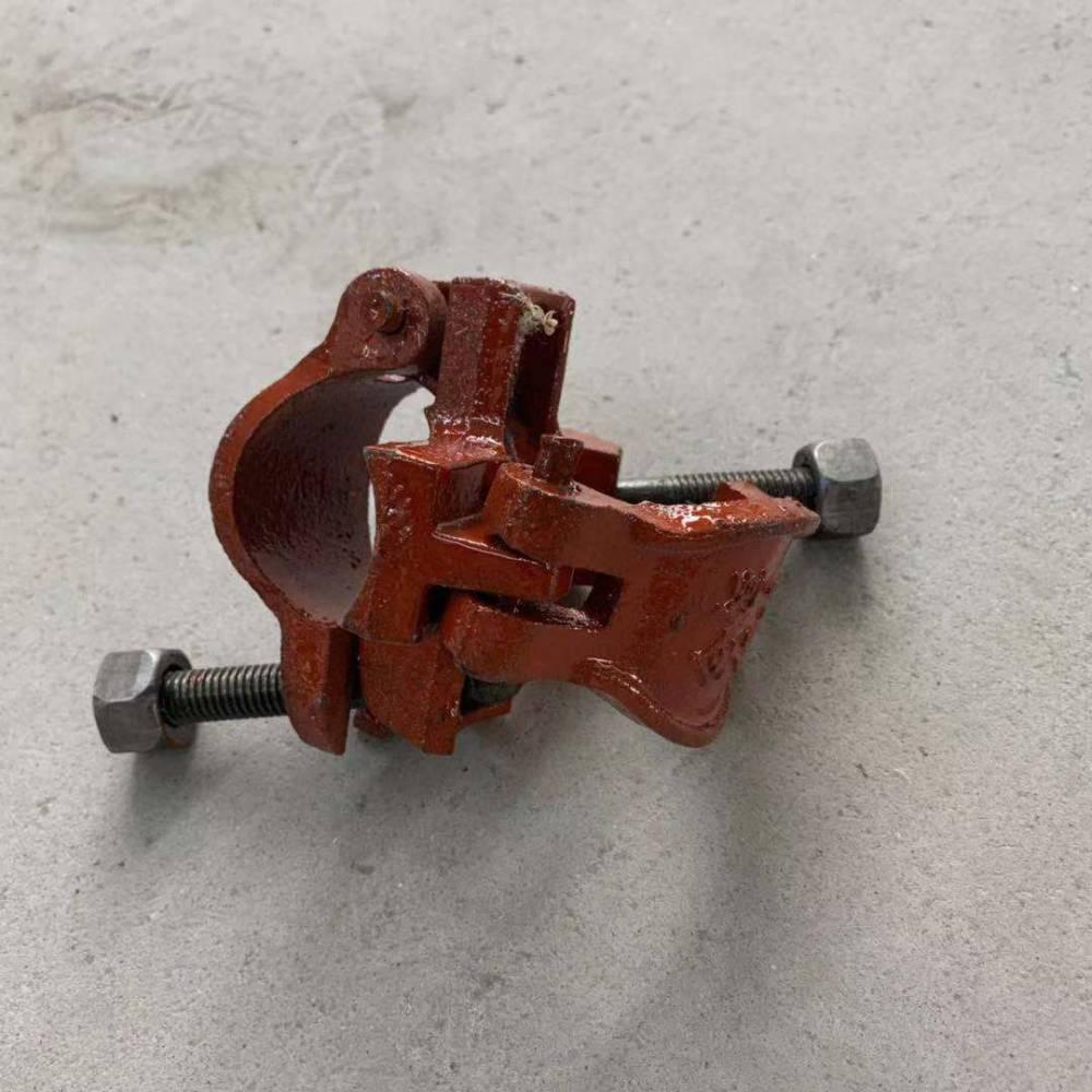 厂家铸造旋转扣件脚手架直角扣件批发建筑对接扣件钢板扣件