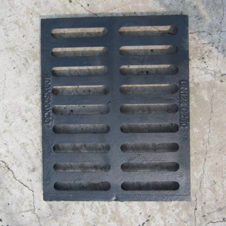 雨水方形铸铁沟盖板现货 重型方形铸铁沟盖板 运通达