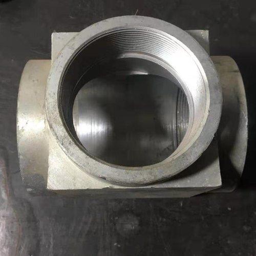 斜式聚乙烯防腐三通 钢制非标焊接三通
