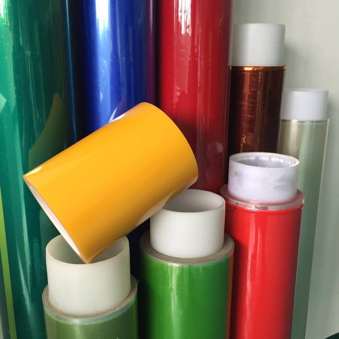 厂家供应 ESD茶色高温胶带 耐热喷涂遮蔽保护胶带 加工 定制