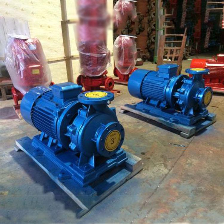 耐腐蚀卧式管道泵 鸿淼泵业 耐腐蚀卧式管道泵定制