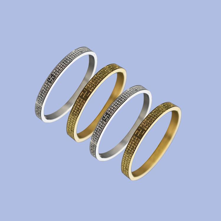 小众设计钛钢手环手镯订制