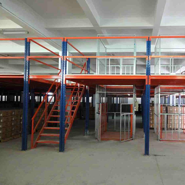 重型阁楼型货架生产 重量型阁楼型货架生产 瑞远