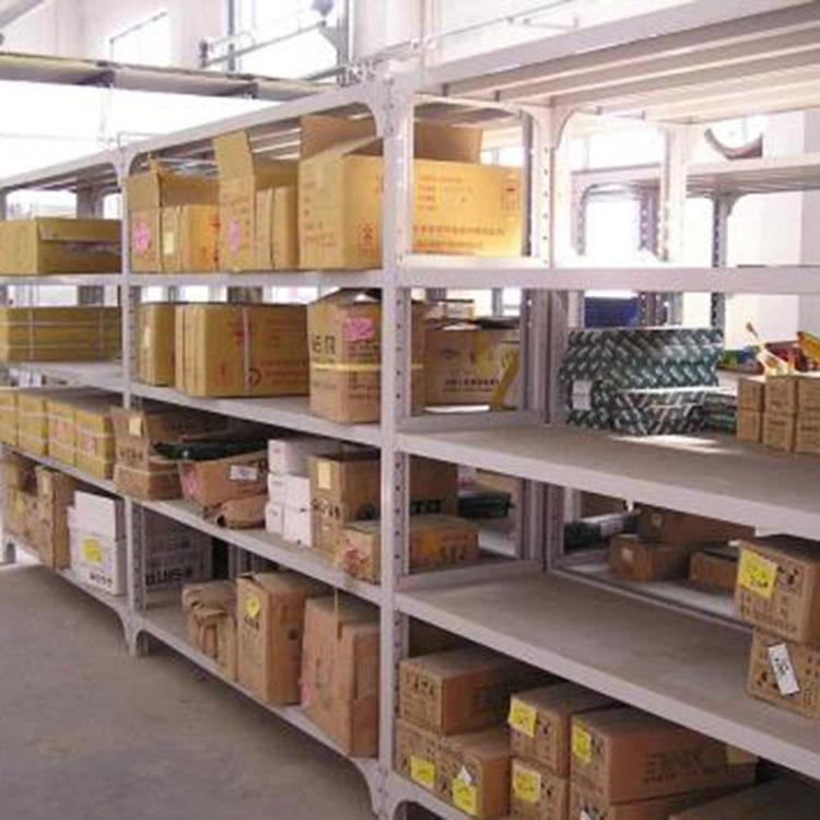 瑞远 中型仓储货架订做 钢制中型仓储货架采购