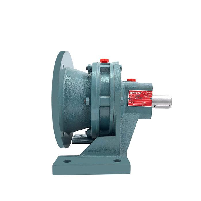 齿轮摆线减速机优惠促销 铸铁材质摆线减速机可定制 MINPEAR