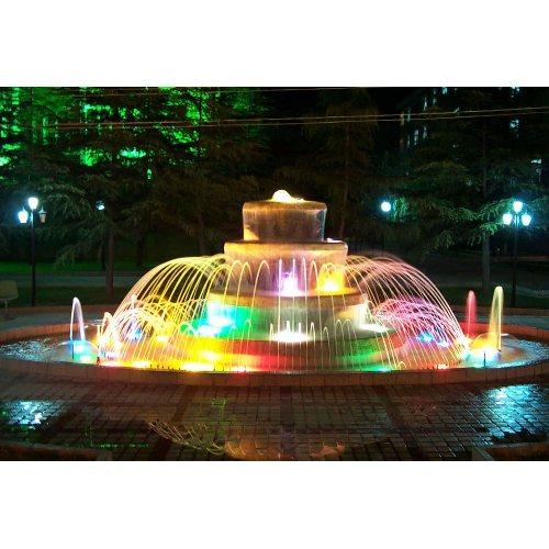 广场声控喷泉 声控喷泉 山木景观 承接声控喷泉
