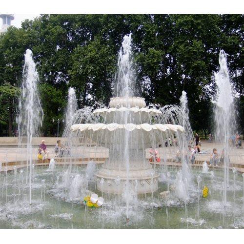广场声控喷泉图片 大型声控喷泉图片 山木景观