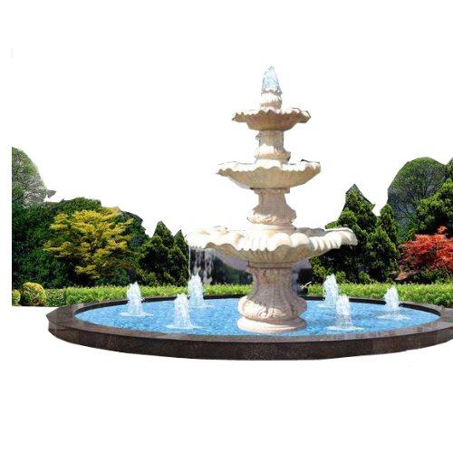 山木景观 大型声控喷泉制作 大型声控喷泉图片