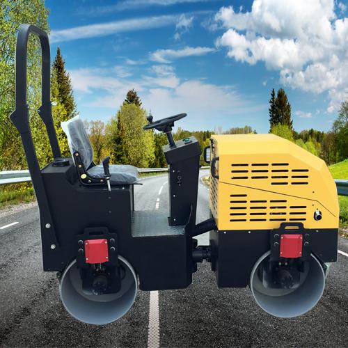 1吨振动式压路机品牌机械 双钢轮振动式压路机采购优选 通华