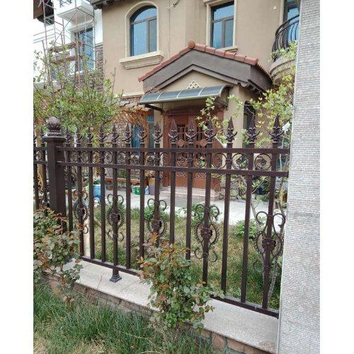 铝艺护栏厂家 厂家供应铝艺护栏图片 平轩金属 铝艺护栏出售