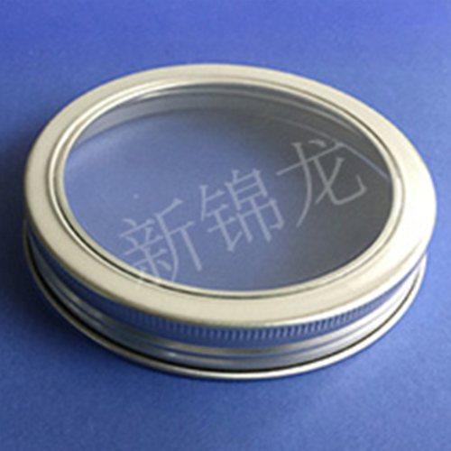 广口铝盖生产商 铝盖 螺旋铝盖直销 新锦龙