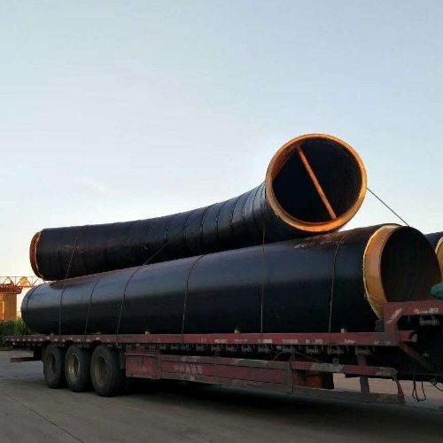 预制保温管件 直埋式保温管直埋管 聚乙烯外壳聚氨酯管