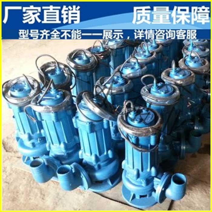 一水泵业 潜水排污泵厂家直销 地下室排污泵