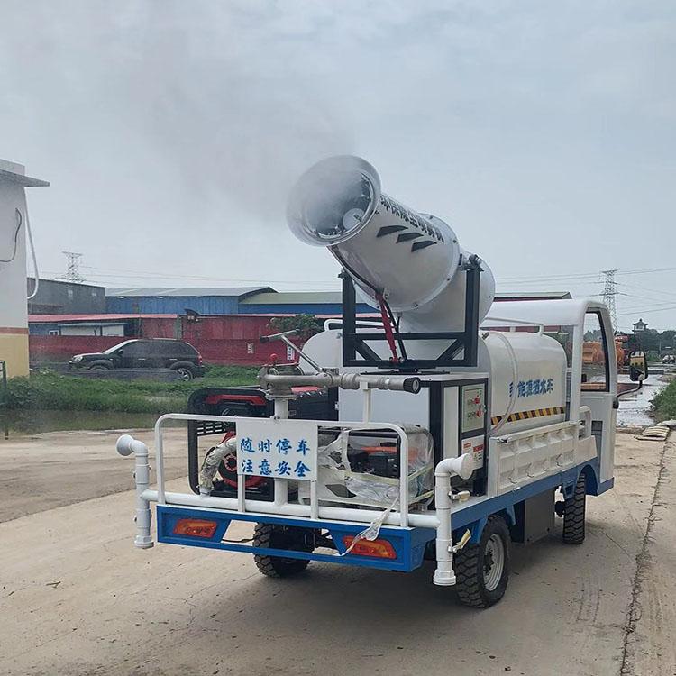 道路环保柴油三轮洒水车多功能