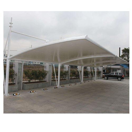 专业膜结构汽车棚造价 金梁 体育馆膜结构汽车棚订制