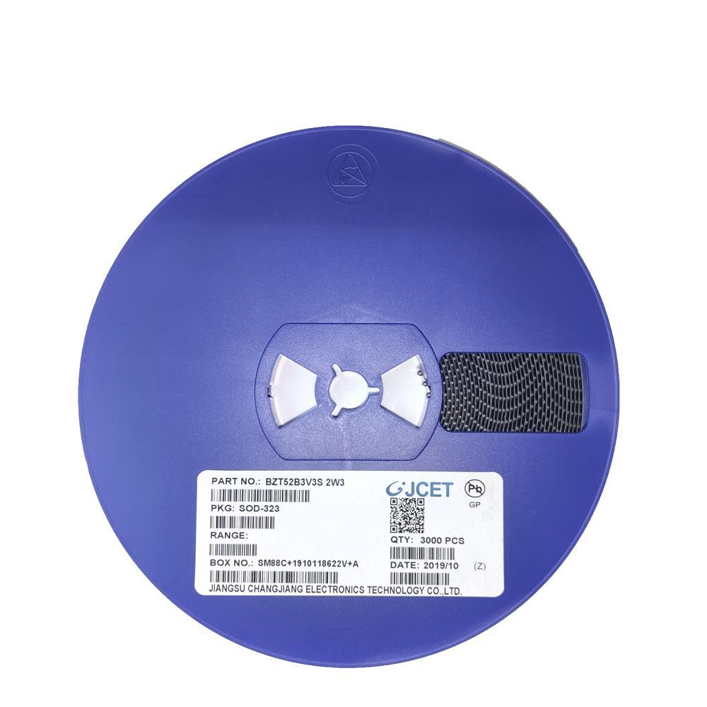 供应稳压二极管 BZT52B3V3 SOD123