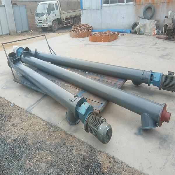生产管型螺旋输送机品牌 振源机械 供应管型螺旋输送机说明