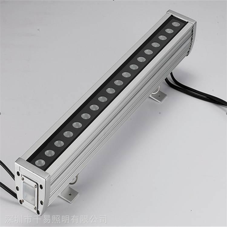 LED景观线条防水灯带18W洗墙灯