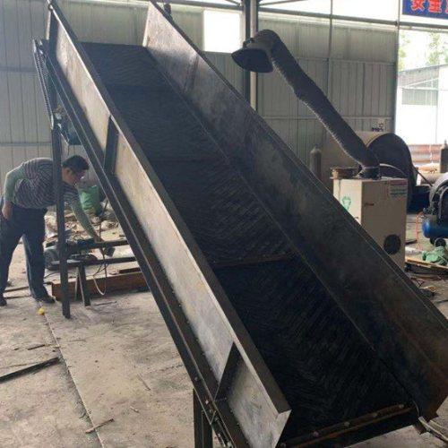 爬坡皮带式输送机出售 移动皮带式输送机供应商 国友