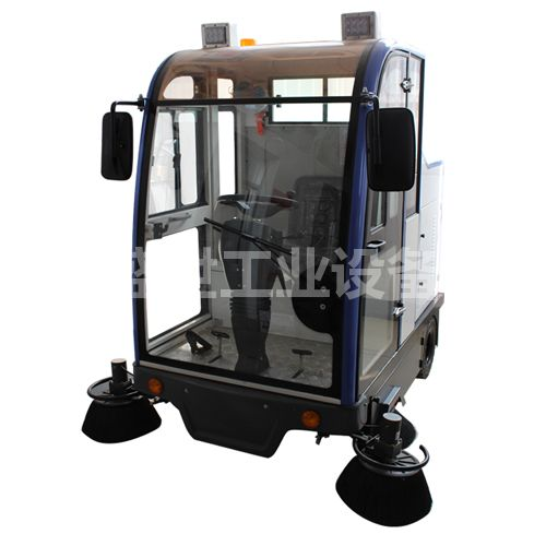 小型环卫扫地车 电动驾驶式扫地车