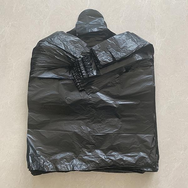 卫生间专用黑色手提袋单价 世起塑料 防水黑色手提袋
