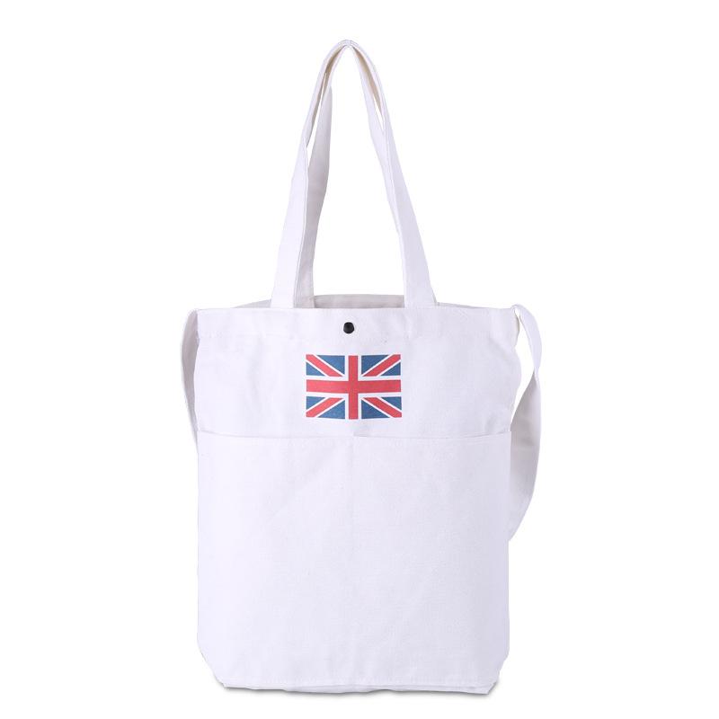 厂家定制创意广告环保袋 东莞礼品设计手提棉布印花袋子帆布包订做