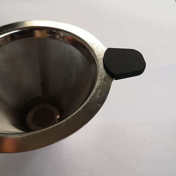玻璃杯硅胶水杯套定制 晨光橡塑 丹麦壶硅胶水杯套加工