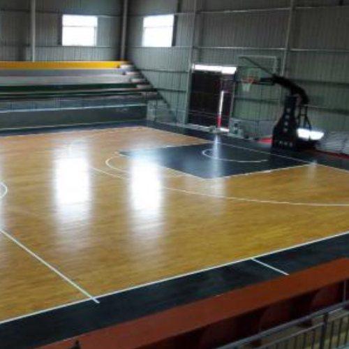 运动体育馆木地板 学校体育馆木地板铺设 立美