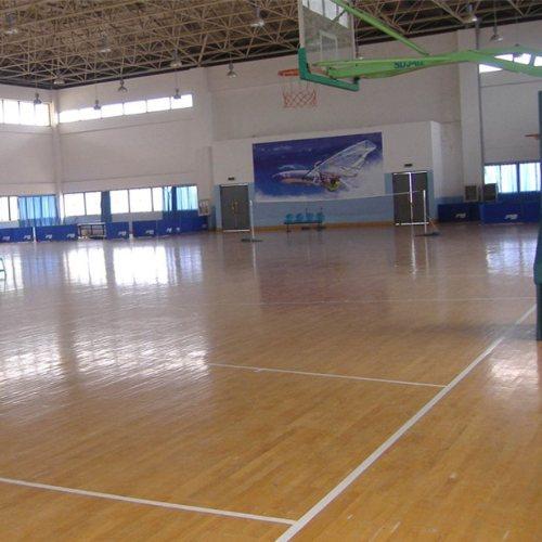 学校体育实木地板订制 篮球场体育实木地板订做 立美