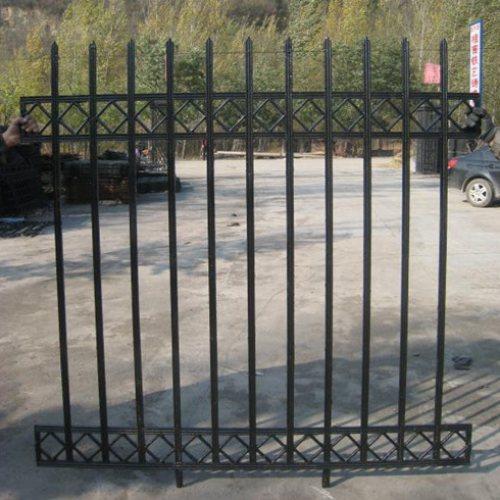 围墙铸铁栅栏图片 阳台铸铁栅栏施工方案 桂吉