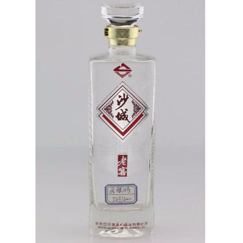 高白料白酒瓶工厂直销 金诚 烤花白酒瓶工厂直销