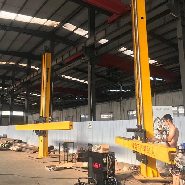 上弘机械 伸缩式焊接操作机定制 悬臂式焊接操作机定做