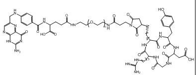 cRGD-PEG-FA 叶酸-聚乙二醇-环肽RGD