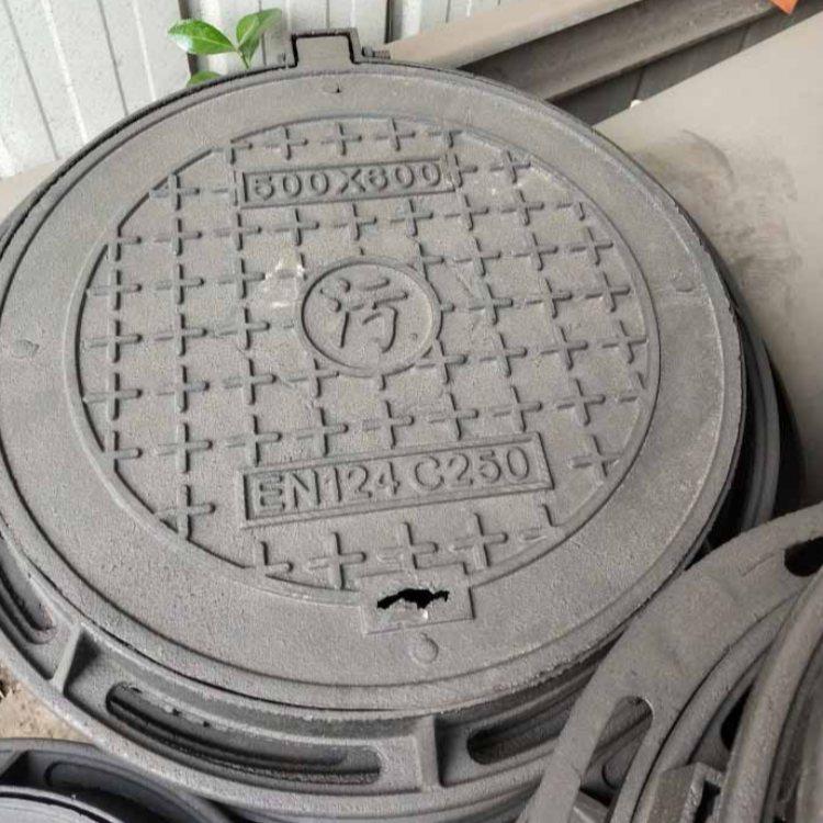 通讯球墨铸铁井盖 艺术球墨铸铁井盖现货 运通达