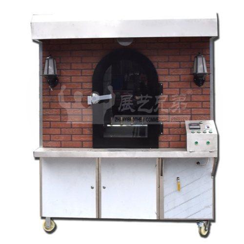 烤鸡店专用烤鸭炉批发 展艺兄弟 移动式烤鸭炉定制