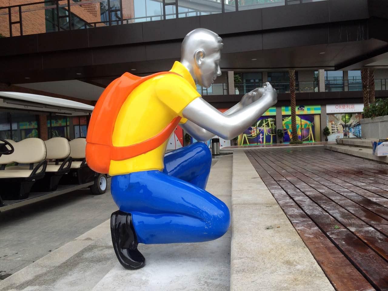 人物雕塑 玻璃钢人物雕塑 值得信赖