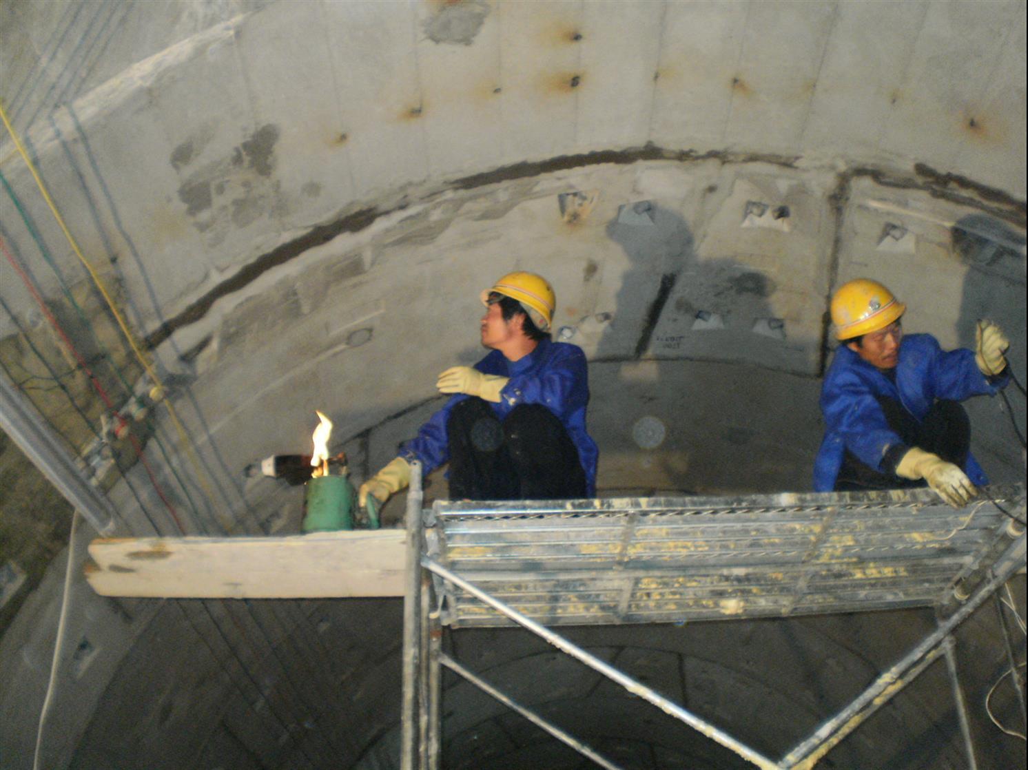安康隧道防水堵漏施工 隧道防水堵漏 实体资质