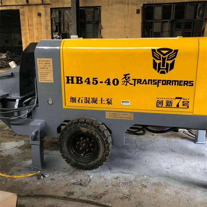 40型细石砂浆输送泵、邢台细石砂浆输送泵设备、混凝土机械泵细石砂浆输送泵价格多少钱-万尚宇机械