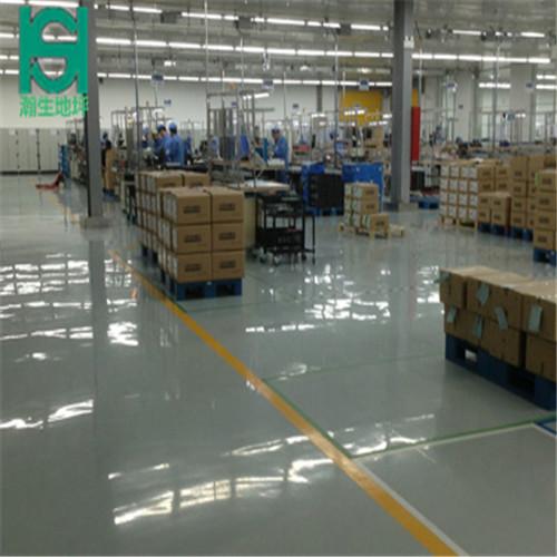 硬化地坪 德州瀚生 厂房环氧硬化地坪施工公司